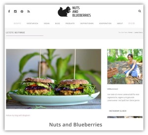 Janines Blog - Nuts and Blueberries